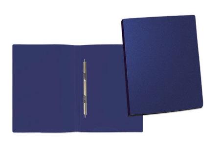 Папка А4 пруж скоросш 0,5мм синий