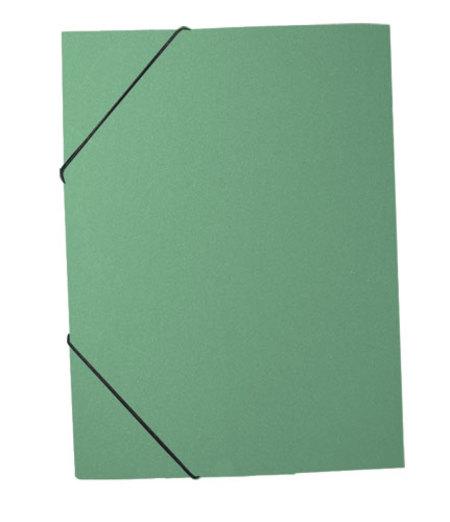 Папка на резинке А4 Premier зеленый