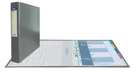 Папка-регистратор 2 кольца 50мм Classic Серый