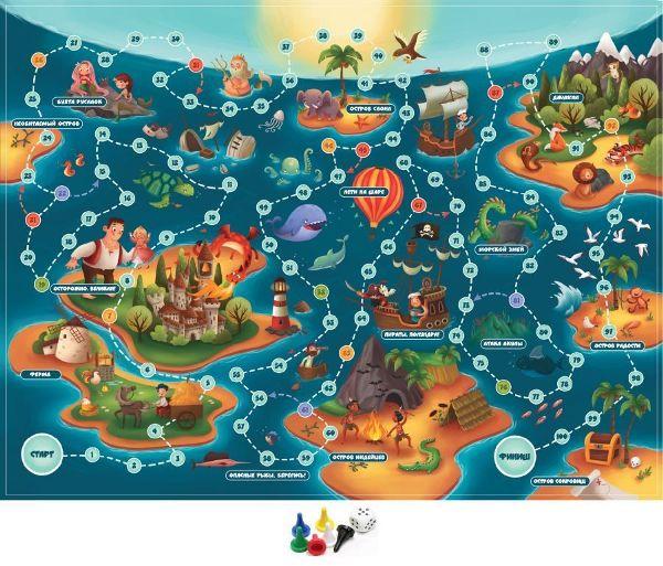 Игра Карта сокровищ (ходилка)