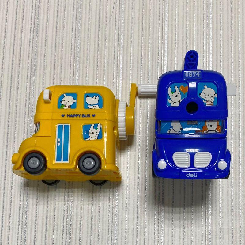 Точилка механическая Bus Deli