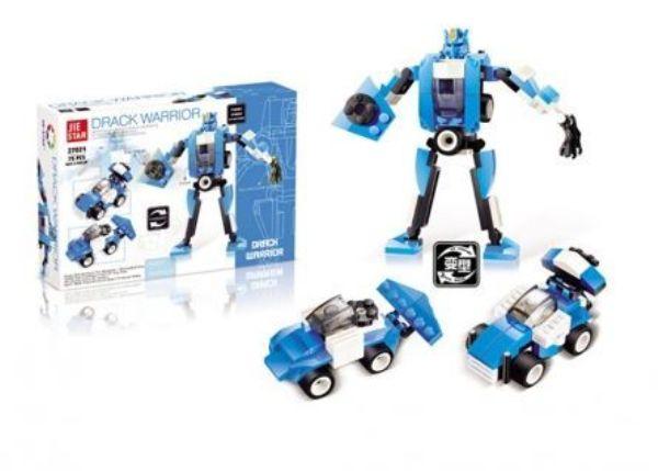 Конструктор Робот-трансформер (75 деталей)