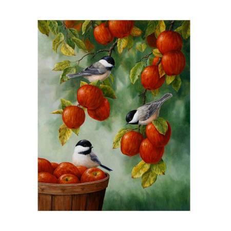 Картина по номерам 20х30см Яблоневый сад (16 цветов)