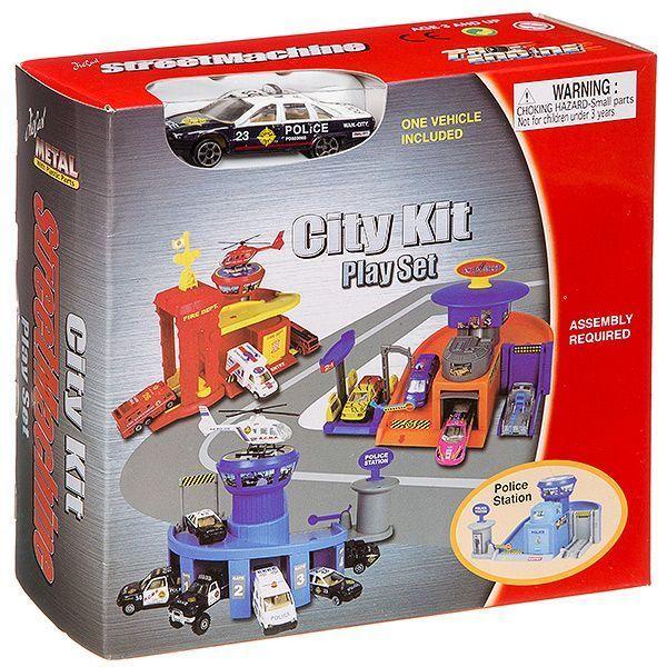 Набор Pioneer Toys City Kit З вида