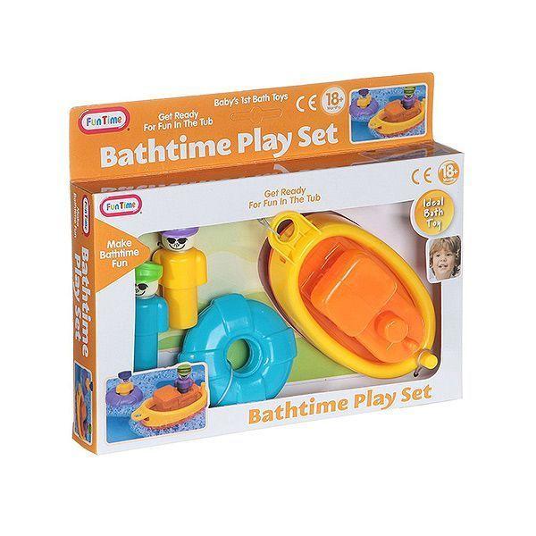 Игрушка пластик для ванны 24х16х4см Лодка