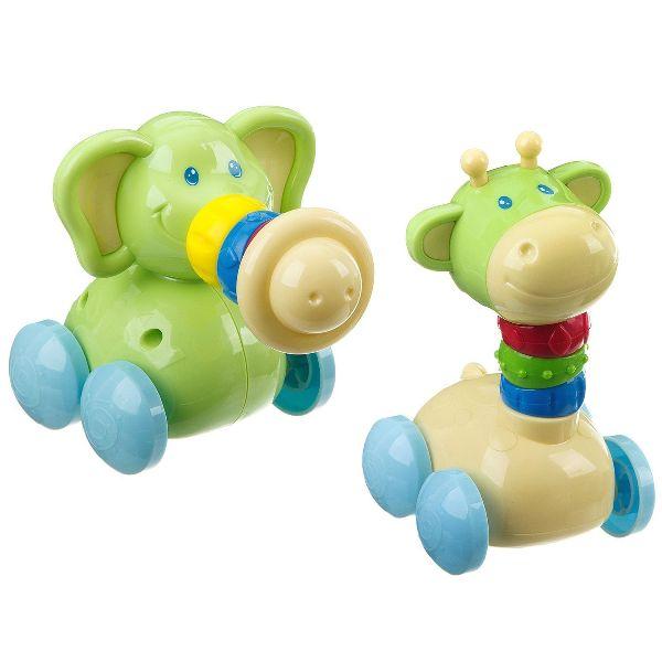 Игрушка Зверь на колесах 2 вида