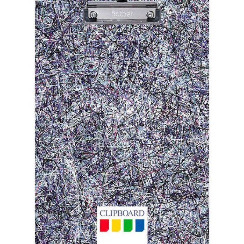 Планшет А4 с зажимом Colored threads Цветные нити