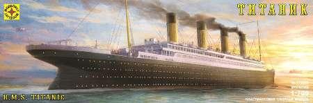 Модель корабль лайнер «Титаник» 1:700