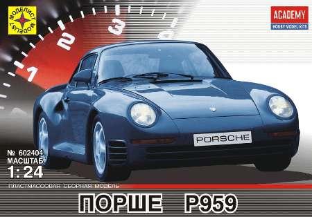 Модель автомобиль Порше P959 1:24