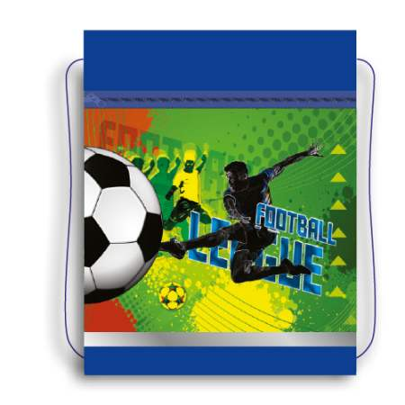 Сумка для сменной обуви Футбольная лига  (карман)
