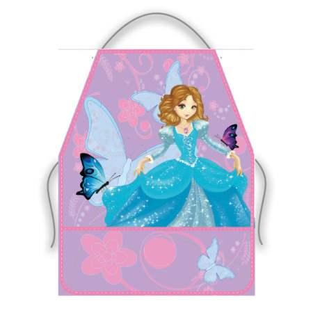 Фартук для Труда Принцесса с Бабочками