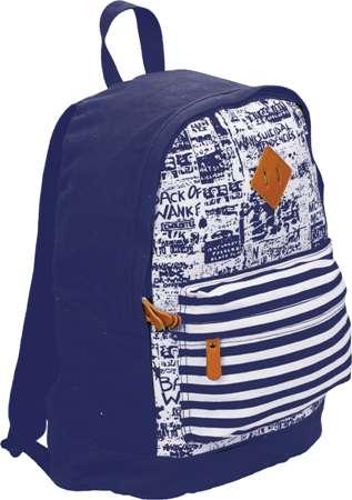 Рюкзак молодежный 42х31х17см (хлопок)