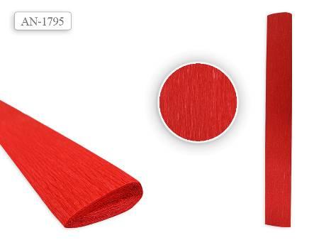 Цв бумага крепиров 50х250см «Красная.»