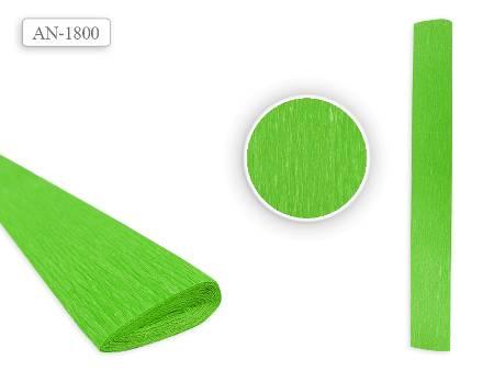 Цв бумага крепиров 50х250см «Ярко-зеленая»