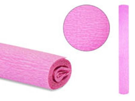 Цв бумага крепиров 50х250см «Розовая»