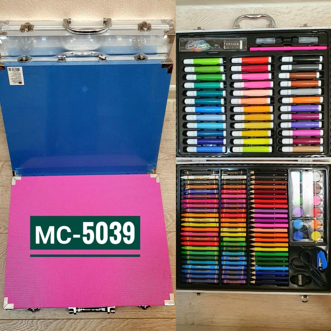 Набор художника 150 предметов (кейс с замочками)
