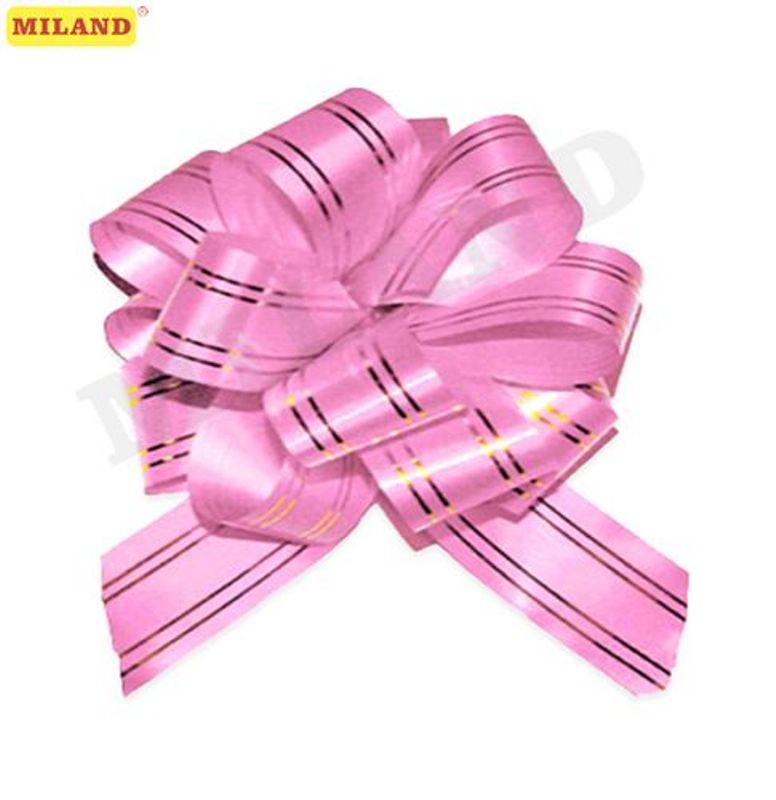 Бант-шар 5см Золотое сечение. Розовый