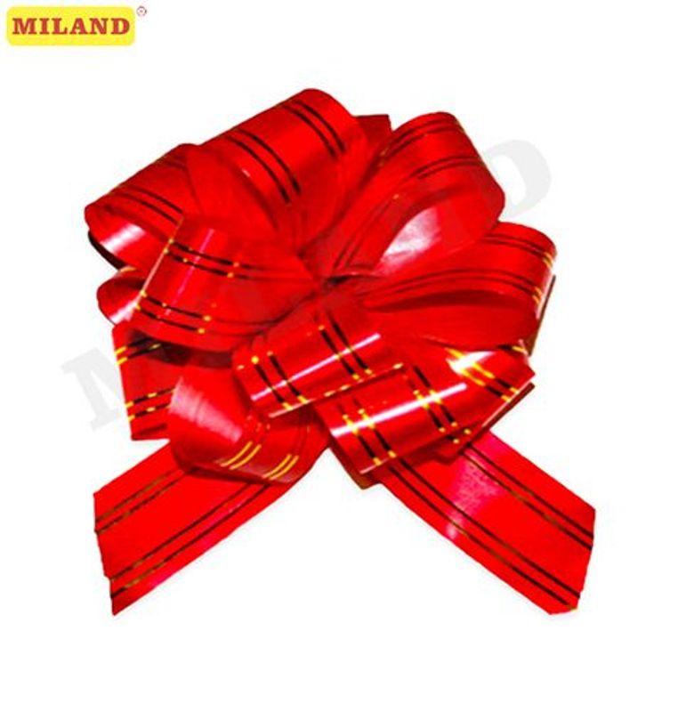 Бант-шар 5см Золотое сечение.Красный