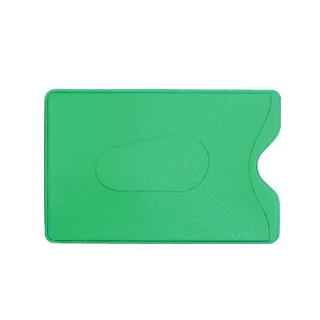 Карман для карт и пропусков (зеленый)