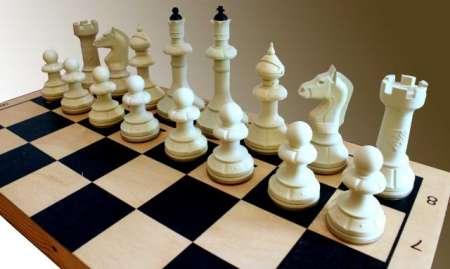 Шахматы Айвенго 40х40см (дерево+пластик)