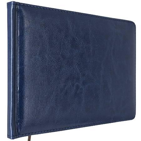 Еженедельник 130х200мм Nature (синий,кожзам)