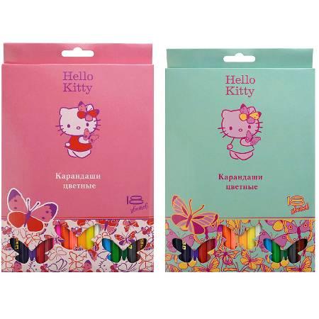 Карандаши 18цв Action!Hello Kitty