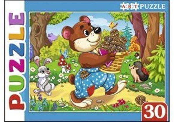 Пазлы 30эл Мишка косолапый