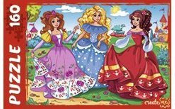Пазлы 160эл «Танец принцесс»