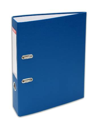 Папка-регистратор 70мм PVC Синий