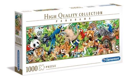 Пазлы 1000эл «Панорама — Мир диких животных»