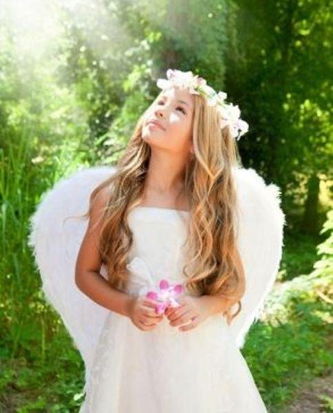 Картина по номерам 40х50см Летний ангел