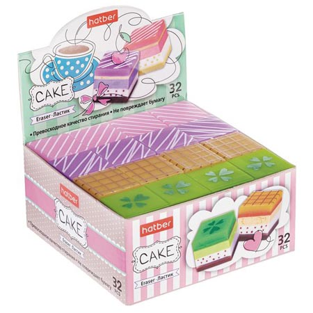 Ластик PVC Hatber Cake
