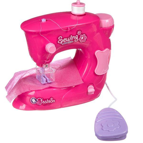 Игрушка пластик Швейная машинка.Я умею шить (розовая)