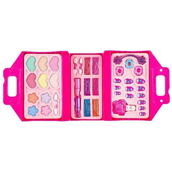 Набор косметики EVA Moda косметичка-чемодан (все для ногтей)