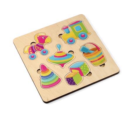Игра деревянная развивающая «Игрушки»