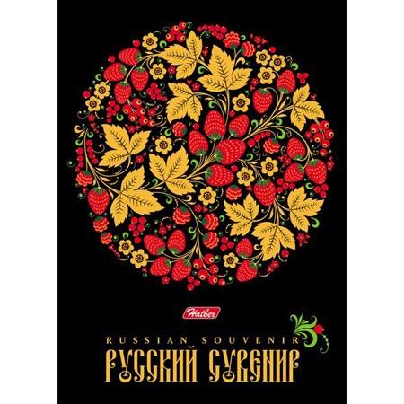 Бизнес-блокнот А6 80л 7БЦ «Русский сувенир»