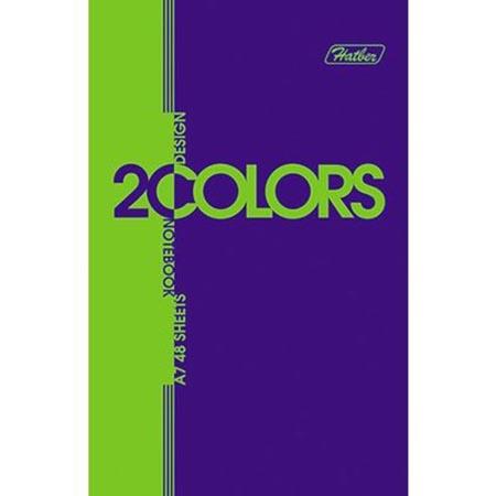 Блокнотик А7 48л «2Colors» 3цв блок