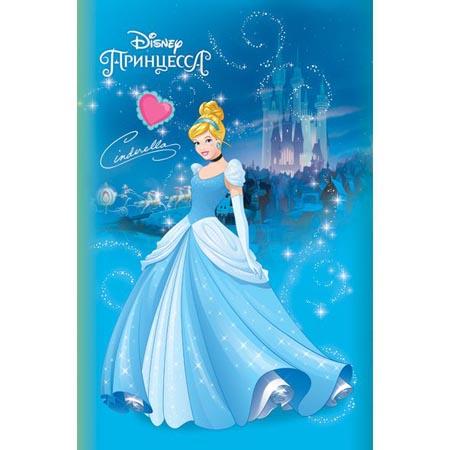 Блокнотик А7 48л «Принцессы (выпуск №2, Disney)» 3цв блок