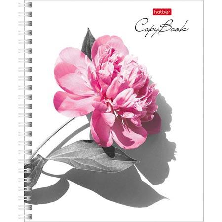 Тетрадь 80л гребень «Нежность цветка» 4 диз в блоке