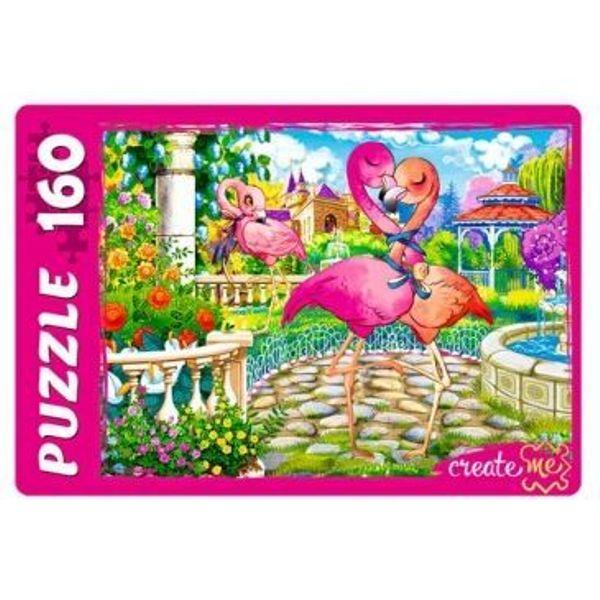Пазлы 160эл «Красивые фламинго №2»