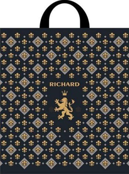 Пакет полиэтиленовый 31х35см с петлевой ручкой Ричард
