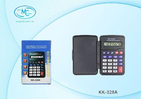 Калькулятор 8 разрядный с крышкой 10х6,5х1,2см