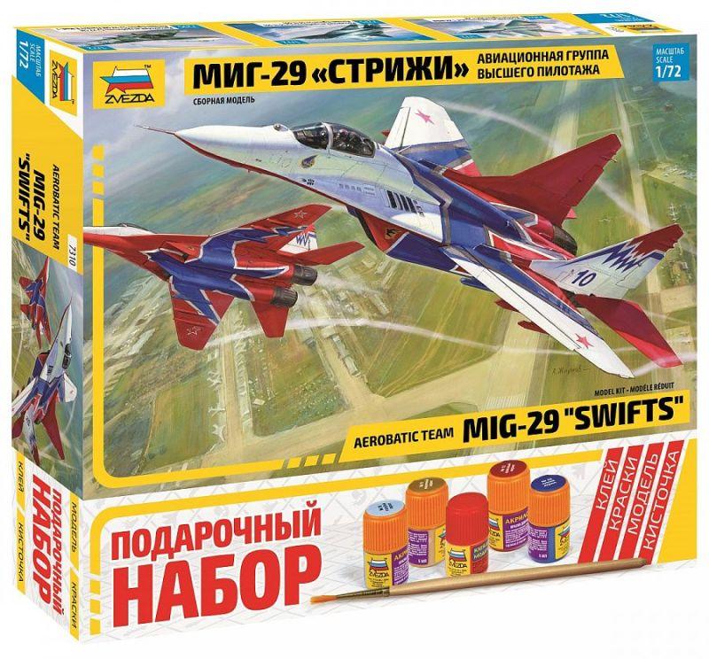 Модель Самолет МиГ-29 авиагруппа Стрижи (подарочный)