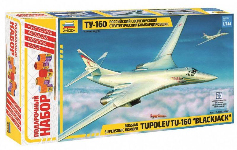 Модель Самолет Ту-160 (подарочный)