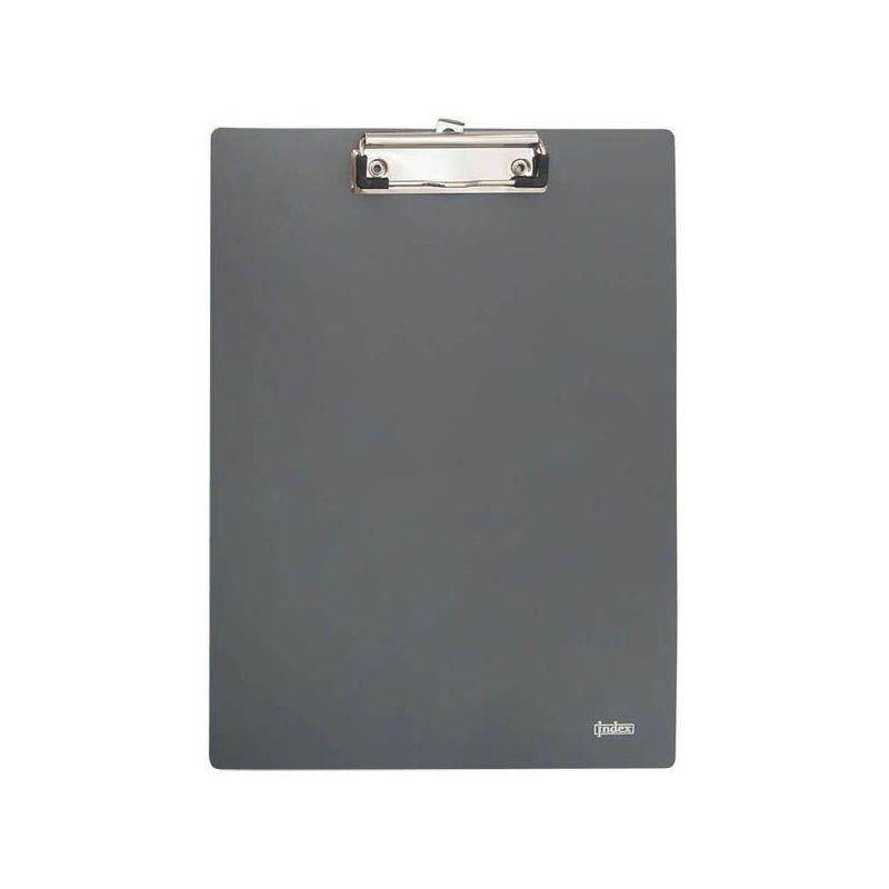 Планшет клип-борд А4 пластик серый Metallic