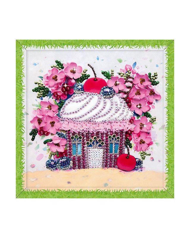 Мозаика из пайеток Вишневый десерт