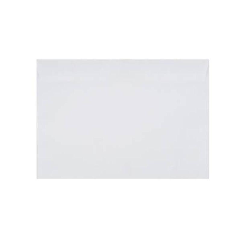 Конверт почтовый С4 229х324 стрип чистый 100г/м2 белый плоский