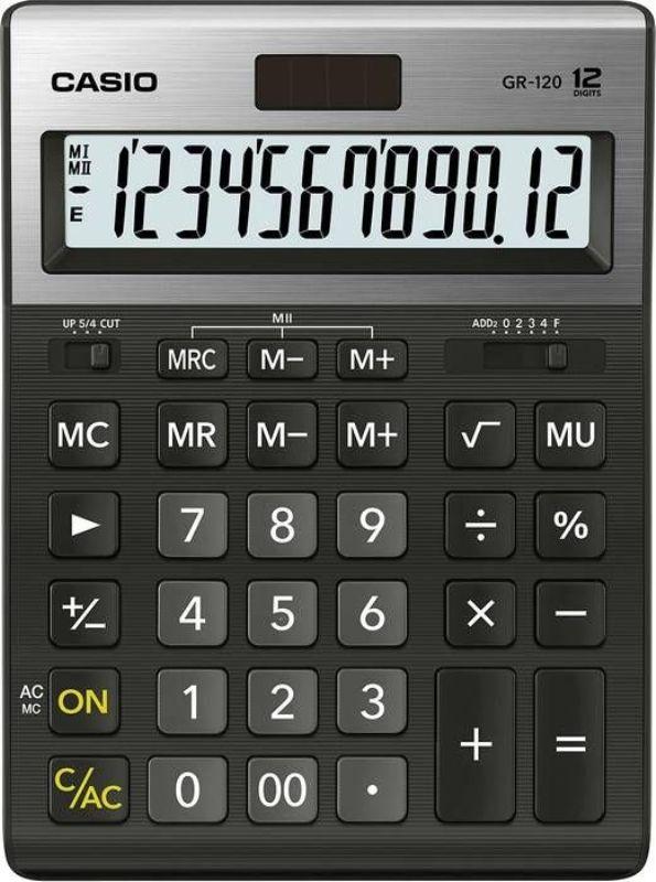 Калькулятор Casio 12 разрядный, бухгалтерский