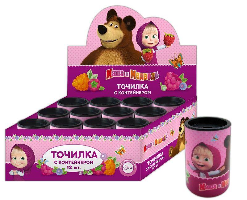 Точилка с контейнером Маша и Медведь