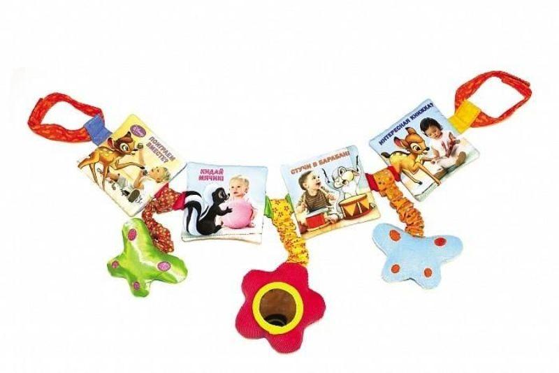 Мягкая подвеска на кроватку Поиграем вместе? Disney Baby